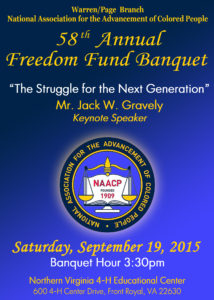 NAACP Banquet Cover